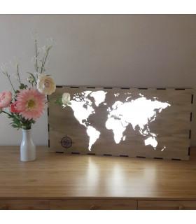 Caja de luz Mapamundi Beginning - Vintiun
