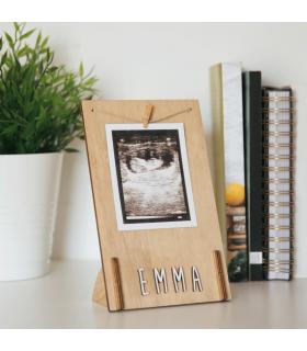Cornice fotografica personalizzata in legno - Vintiun